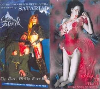 Satarial - The Queen of The Elves' Land Live / Cradle Of Filth - Monza Gods Of Metal (VHSrip) DVD5