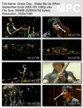 Green Day - Wake Me Up When September Ends (2005)