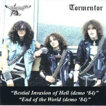 Tormentor (pre-Kreator) & Destruction - Split: Bestial Invasion Of Hell / End Of  The World (Demo) (1984)