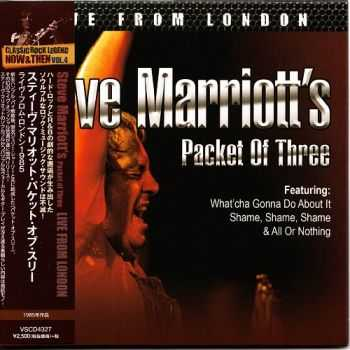 Steve Marriott's Packet Of Three - Live From London (1985) 2015 (Japanese Edition)