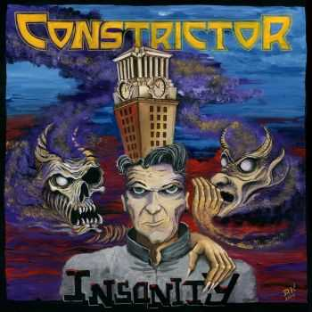 Constrictor - Insanity [EP] (2016)