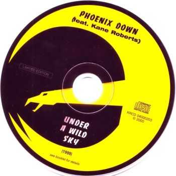 Phoenix Down feat. Kane Roberts [ex-Alice Cooper]  - Under A Wild Sky (1999) [Limited Edition] [Lossless]