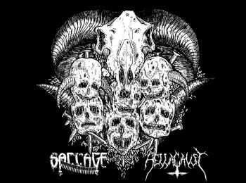 Saccage / Hellacaust - split (2016)