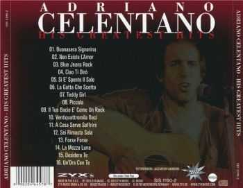 Adriano Celentano - His Greatest Hits (2013)