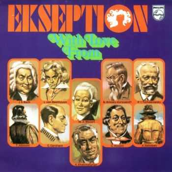 Ekseption - With Love From (1977) [2LP Vinyl Rip 24/192] Lossless