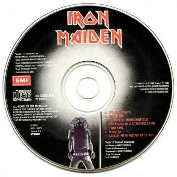 Iron Maiden - Wasted Years - Stranger In A Strange Land 1990 (EP) (Lossless)