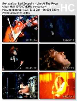Led Zeppelin - Live At The Royal Albert Hall (1970) (DVDRip)