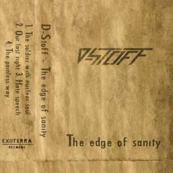 D-Stoff - The Edge Of Sanity [ep] (2014)