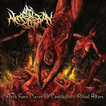 Necropsy Defecation – Flesh Gore Pieces Of Cannibalistic Ritual Altars (2019)
